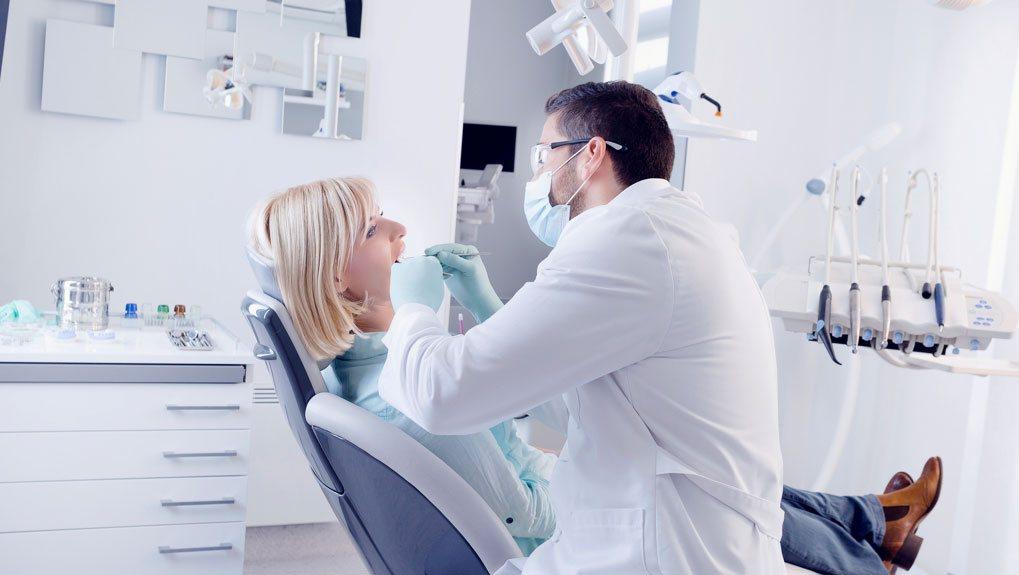 Санирование полости рта